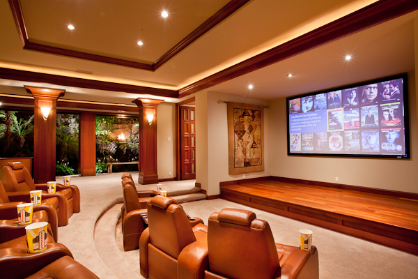Kukio residence for sale with home theater