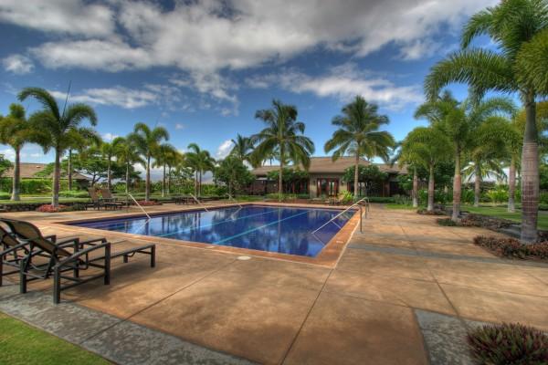 Lap pool & workout hale