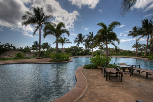 Logoon family pool
