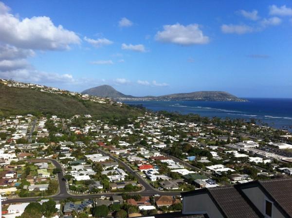 East Honolulu Looking Towards Hawaii Kai