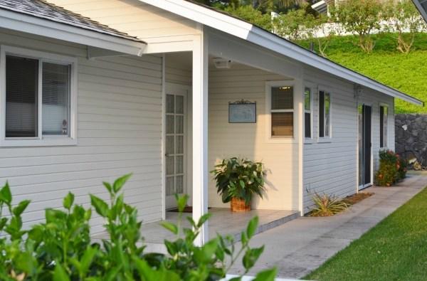 Pines front door