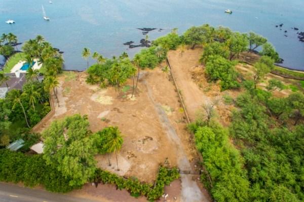 Oceanfront lot for sale Puako Kohala Coast Big Island