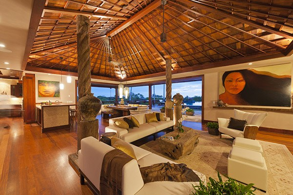 Hualalai Auction home includes furnishings and art