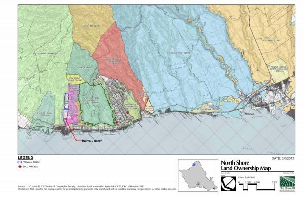North Shore Oahu Ranch neighboring landowners