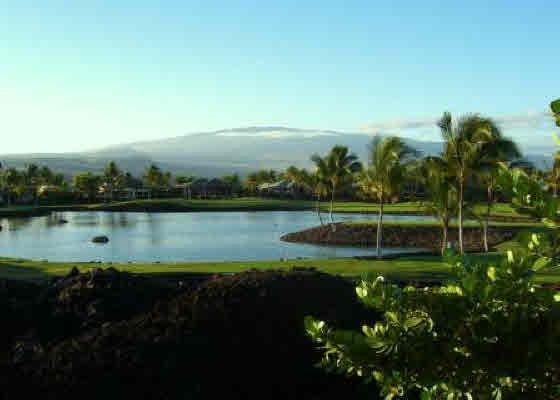 View from upcoming foreclosure 3 bedroom Mauna Lani Point