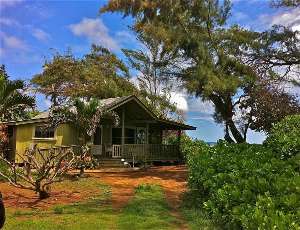 Beach fron house