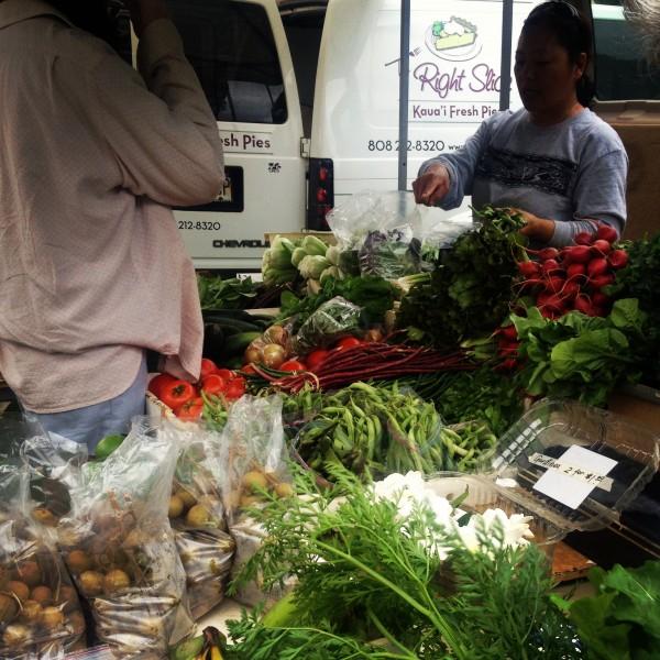 The Farmers Market in Haena