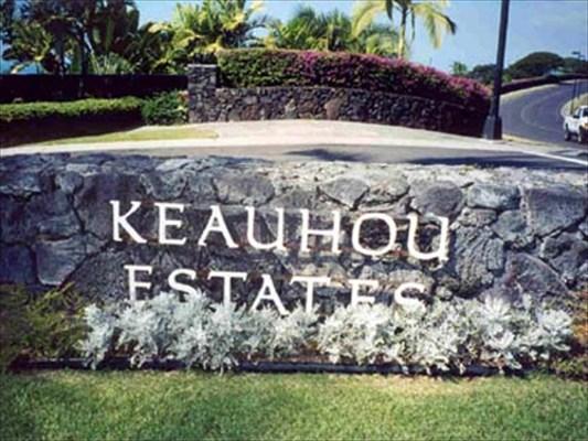Keahou Estates sign
