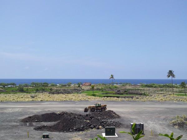 Construction at Kohanaiki resort