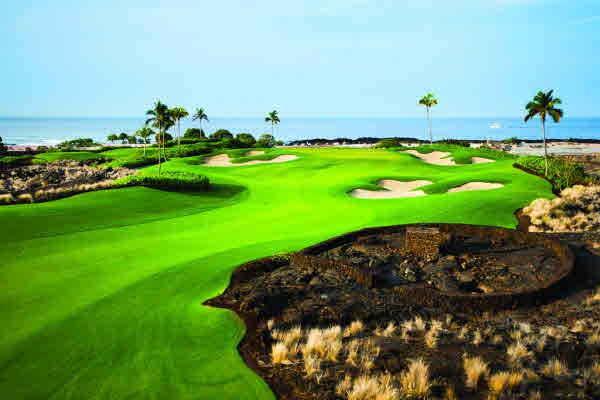 Kohanaiki golf course Rees Jones