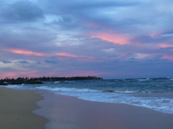 Lydgate sunset