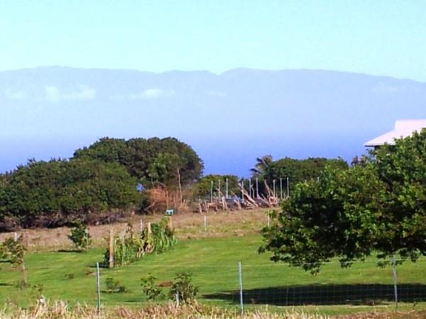Maui View one acre lot in Maliu Ridge Hawi