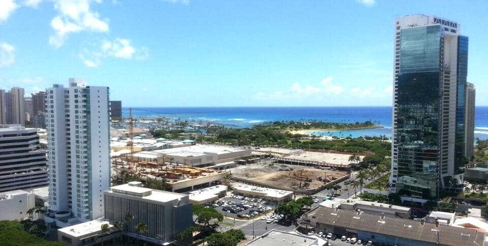 Ala Moana Ctr- Demolition status-Sept 10,2013
