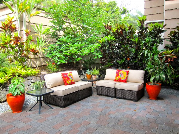 Relax on the Paved Patio
