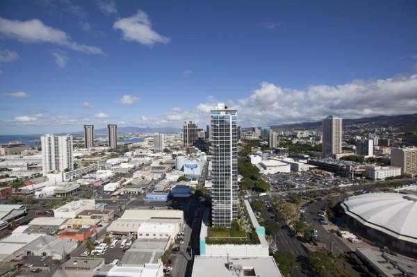 View toward Honolulu