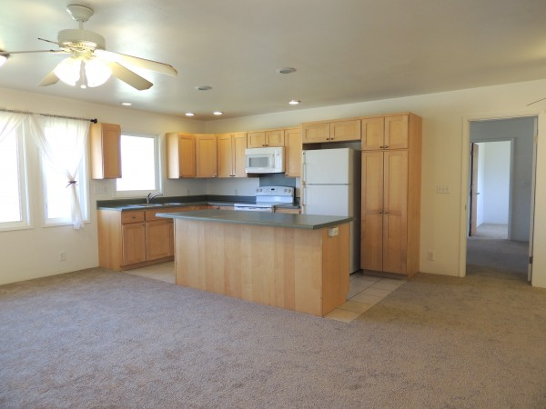 Bright, open kitchen. Perfect for entertaining.