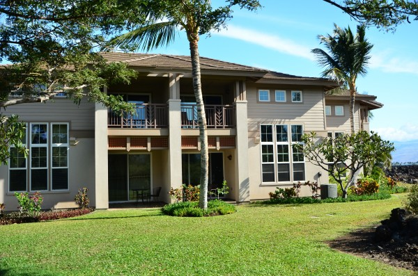 Two-story townhouses at Waikoloa Colony Villas
