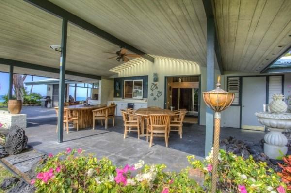 Hawaii Oceanfront Auction - Outdoor Entertaining