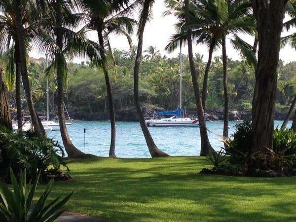 Keauhou bay view