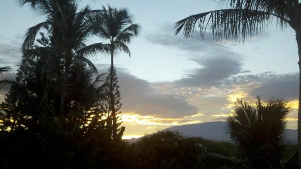 puako sunset