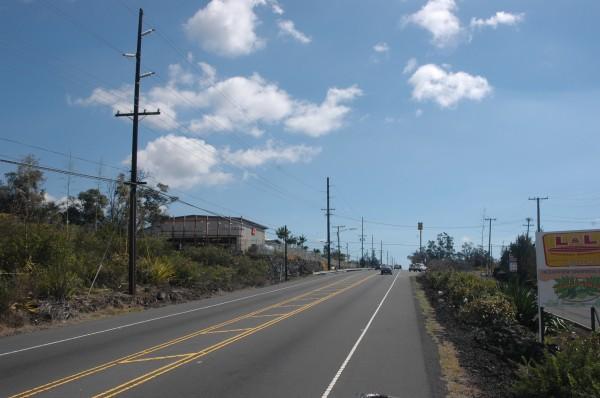 Road thru Ocean View
