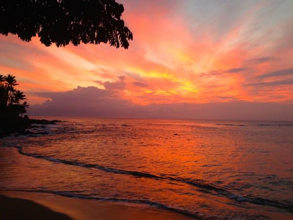 S Turns Sunset