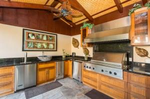 Poolside Cabana Kitchen