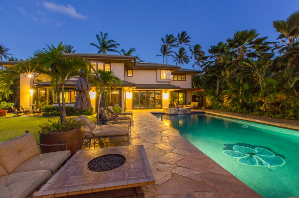 Relax at the poolside of this private Portlock Home