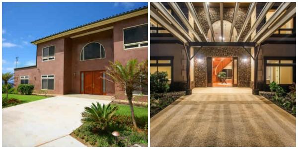 New entry at Pahoa Beach Estates home