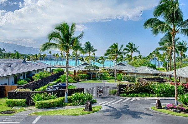 View of kolea Beach Club and Anaehoomalu Bay from Building 10