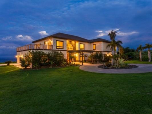 New exterior Pahoa Beach Estate hawi