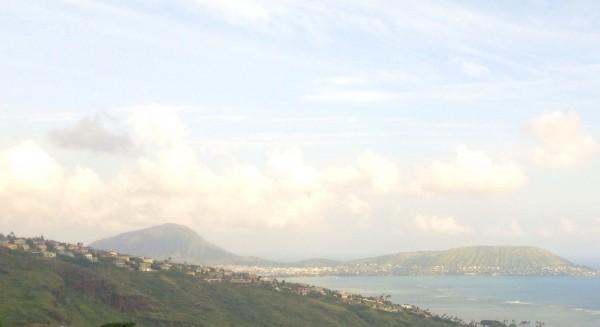 View of KoKo Head and Hawaii Kai from Ridge Property