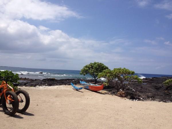 Kohanaiki beach