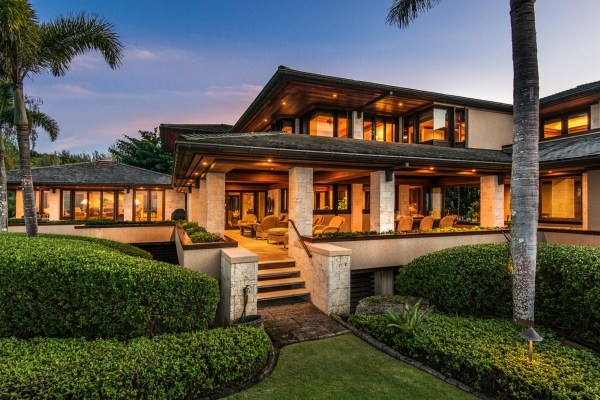 The Unparalleled Beachfront Estate At Anini Beach On Kauai S North Is Situated A 1 29 Acre Lot With Over 400 Feet Of White Sand Frontage