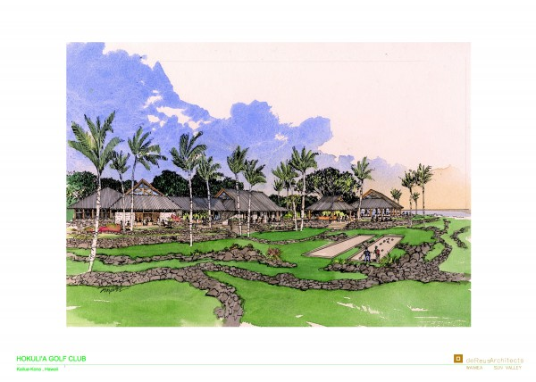 Hokuli a Club House Rendering