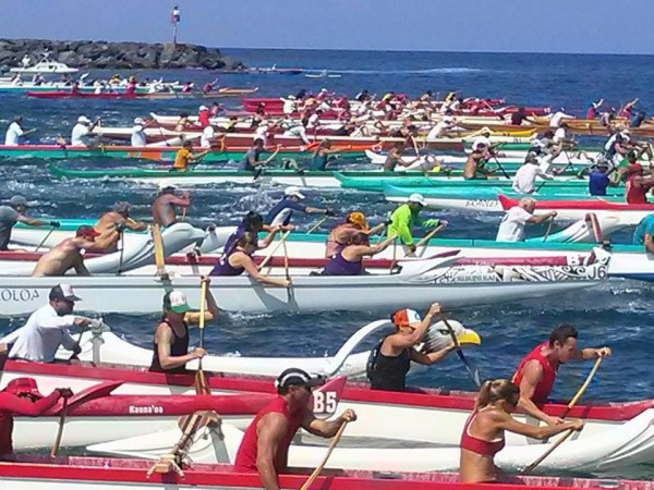 Kawaihae Long Distance Canoe Race