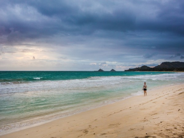 Perhaps this is how everyday will start in Kailua...