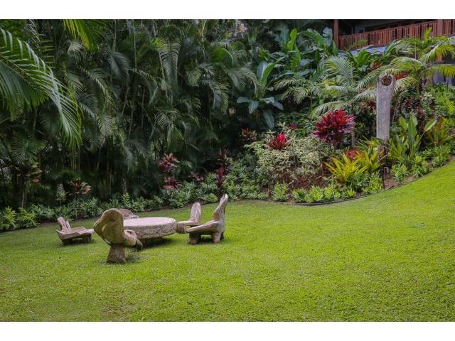 Serene gardens cosset the home