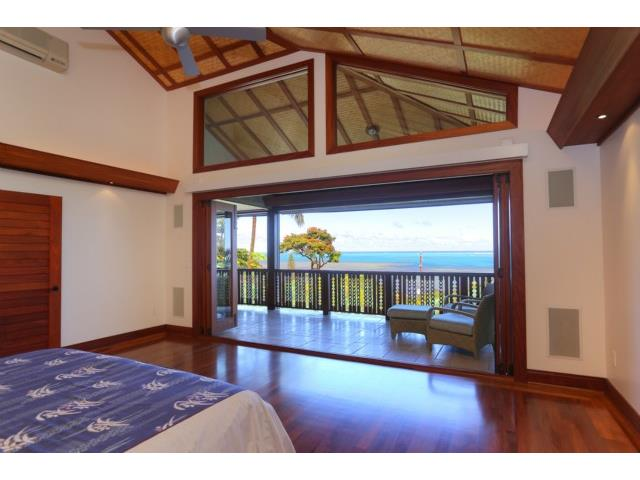As serene as it gets: A Master Bedroom with full on Kaneohe Bay