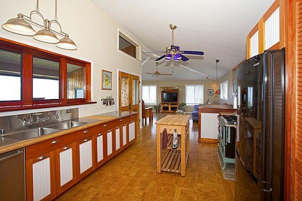 Custom handcrafted kitchen