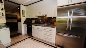 Stainless Refer in Upgraded Kitchen