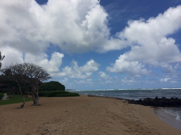 Beach at Waipouli Beach Resort