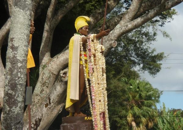 Statue of King Kamehameha I in Kapaau North Kohala