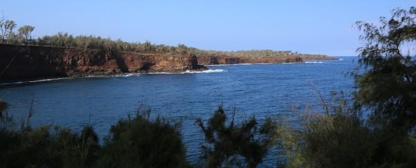 Panaroma of oceanfront for sale in Kohala