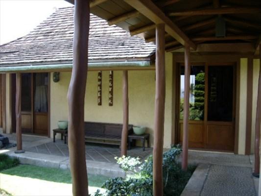 Hogan architect home at Mauna Kea