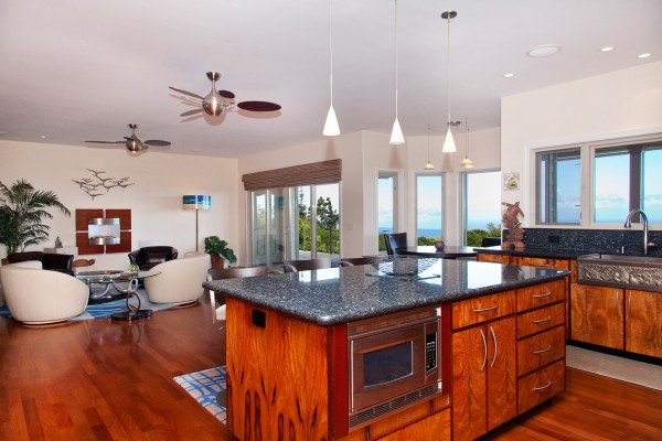 Beautiful views and finishes in Hawi Home for sale