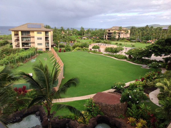 Koloa Landing Resort August 2014