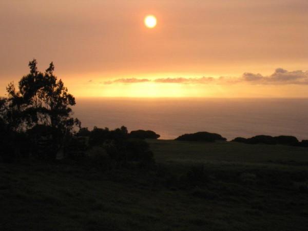 Maliu Ridge sunset view