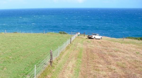 hoolawa oceanfront lot