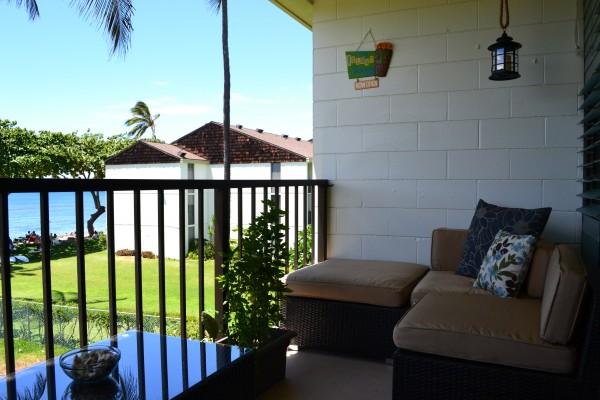 Vacation Rental Lanai - Haleiwa, HI